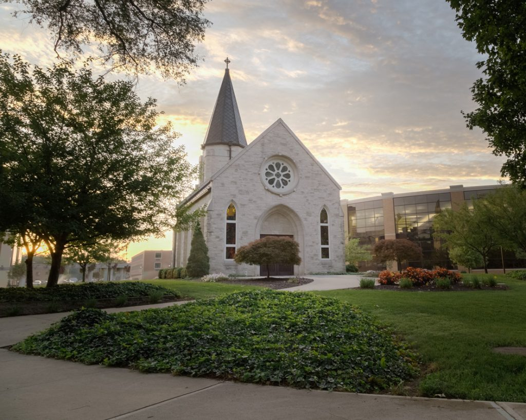 Morning-Sunrise-on-Campus-Williams-Prayer-Chapel---3